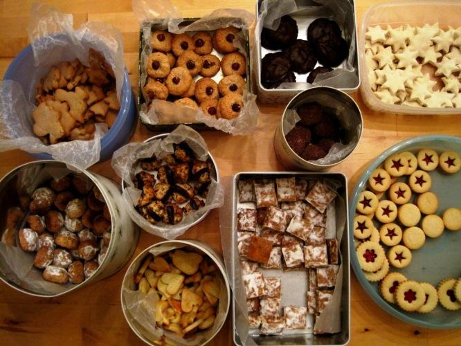 2010 Christmas Baking